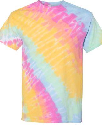 Tilt Tie Dye T-Shirt Aerial
