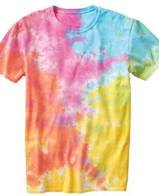 Slushie Crinkle Tie Dye T-Shirt Aerial