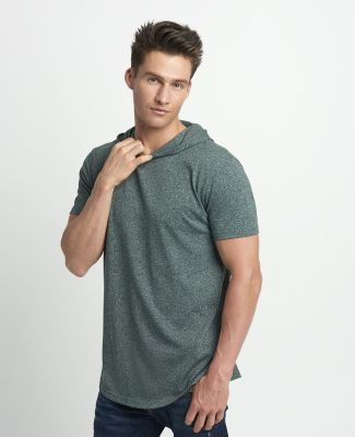 Next Level Apparel 2022 Mock Twist Short Sleeve Hoodie Catalog