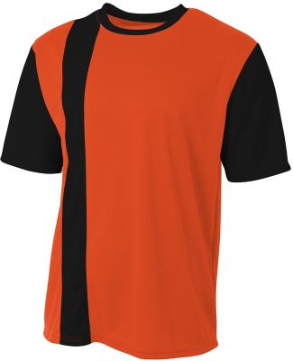 A4 Apparel NB3016 Youth Legend Soccer Jersey Orange/Black