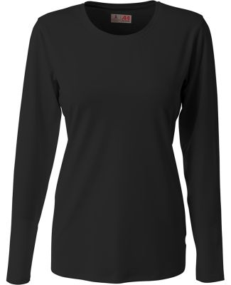A4 Apparel NW3015 Ladies' Spike Long Sleeve Volley Black