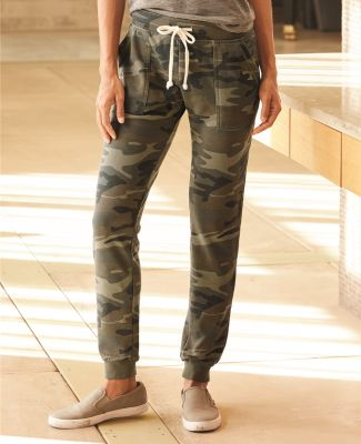 Alternative Apparel 8632 Women's Long Weekend Burnout French Terry Joggers Catalog