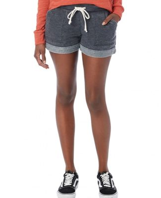 Alternative Apparel 8630 Women's Lounge Burnout French Terry Shorts Catalog