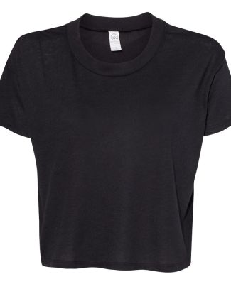 Alternative Apparel 5114 Women's Vintage Jersey  BLACK