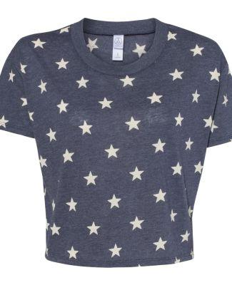 Alternative Apparel 5114 Women's Vintage Jersey  STARS