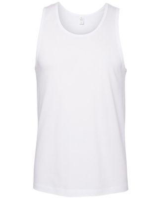 Alternative Apparel 1091 Cotton Jersey Go-To Tank White