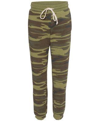 Alternative Apparel 9902 Women's Eco Fleece Clas CAMO