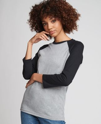 Next Level Apparel 6251 Unisex CVC Three-Quarter Sleeve Raglan Catalog