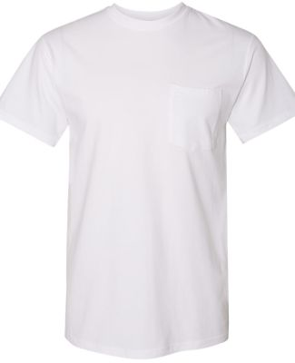 Next Level Apparel 7415S Power Crew Short Sleeve P WHITE