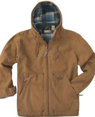 Backpacker BP7020 Men's Hooded Navigator Jacket BROWN