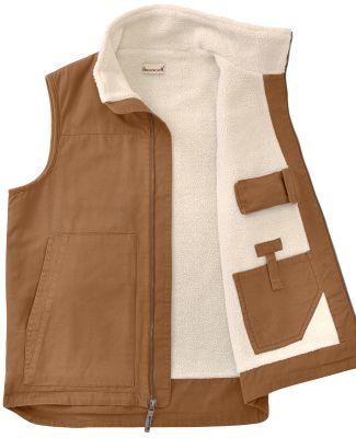 Backpacker BP7026T Men's Tall Conceal Carry Vest BROWN