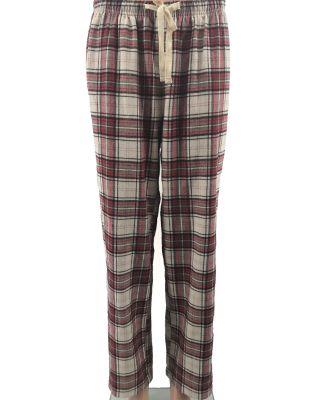 Backpacker BP7038 Ladies' Flannel Lounge Pants BRICK