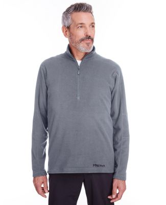 Marmot 901076 Men's Rocklin Fleece Half-Zip STEEL ONYX
