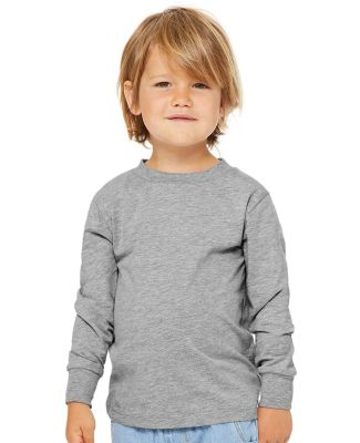 Bella + Canvas 3501T Toddler Jersey Long Sleeve Tee Catalog