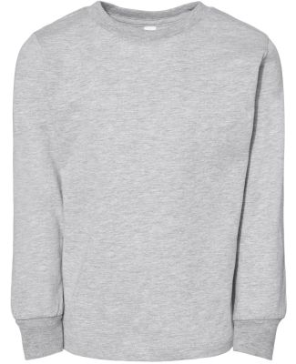 Bella + Canvas 3501T Toddler Jersey Long Sleeve Te ATHLETIC HEATHER