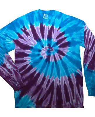 Tie-Dye CD2000 Adult 5.4 oz. 100% Cotton Long-Slee BARBADOS