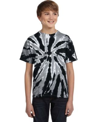 Tie-Dye CD110Y Youth 5.4 oz., 100% Cotton Twist d  TWIST BLACK