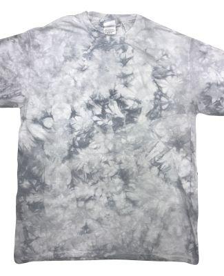 Tie-Dye 1390 Crystal Wash T-Shirt SILVER
