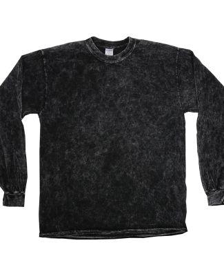 Tie-Dye CD2300 Mineral Long Sleeve T-Shirt BLACK