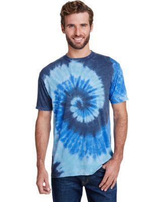 Tie-Dye CD1090 Adult Burnout Festival T-Shirt SEA