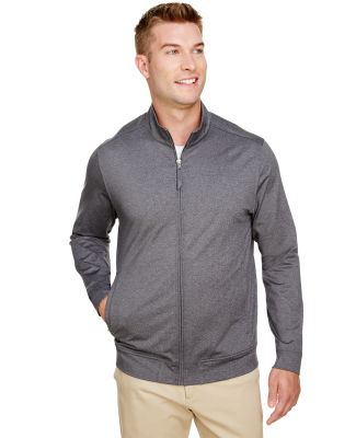 UltraClub UC400 Men's Navigator Heather Performanc CHARCOAL HEATHER