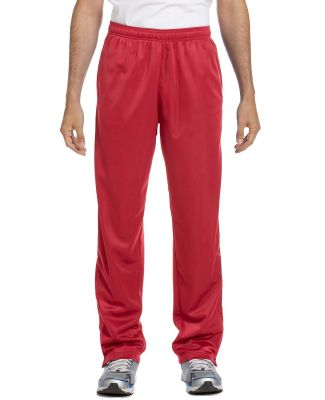 Harriton M391 Men's Tricot Track Pants RED