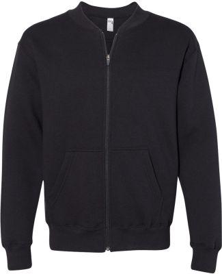 Gildan HF700 Hammer™ Fleece Full-Zip Sweatshirt BLACK