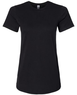 Gildan 67000L Softstyle Women's CVC T-Shirt PITCH BLACK