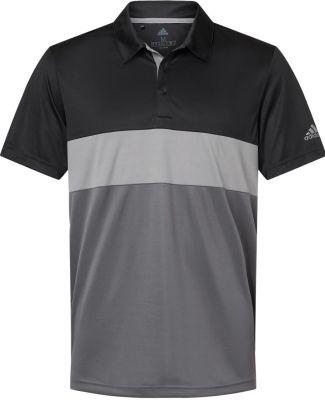 Adidas Golf Clothing A236 Merch Block Sport Shirt Black/ Grey Three/ Grey Five