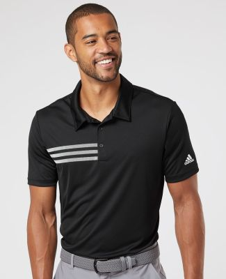 Adidas Golf Clothing A324 3-Stripes Chest Sport Shirt Catalog