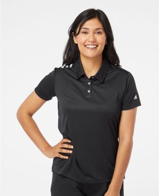 Adidas Golf Clothing A325 Women's 3-Stripes Shoulder Sport Shirt Catalog