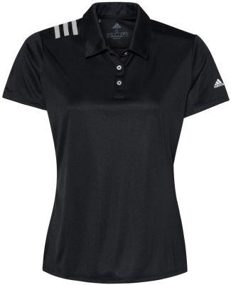 Adidas Golf Clothing A325 Women's 3-Stripes Should Black/ White