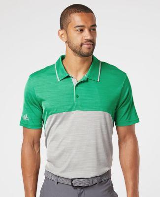 Adidas Golf Clothing A404 Colorblocked Mélange Sport Shirt Catalog