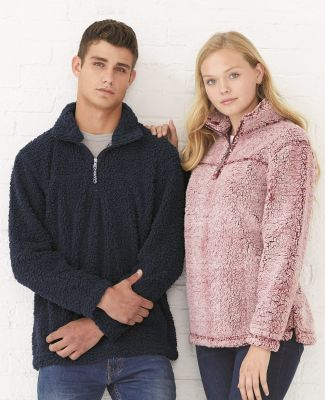 Boxercraft Q10 Unisex Sherpa Fleece Quarter-Zip Pullover Catalog