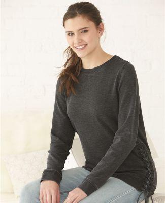 Boxercraft V03 Women's Enzyme-Washed Rally Lace-Up Sweatshirt Catalog