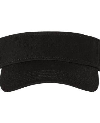 Champion Clothing CS4002 Washed Cotton Visor Black