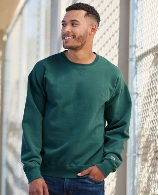 Champion Clothing CD400 Garment Dyed Crewneck Sweatshirt Catalog