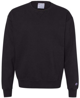 Champion Clothing CD400 Garment Dyed Crewneck Swea Black