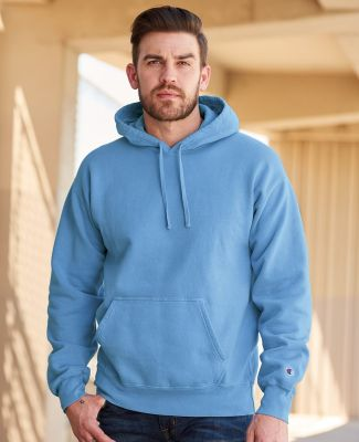 Champion Clothing CD450 Garment Dyed Hooded Sweatshirt Catalog