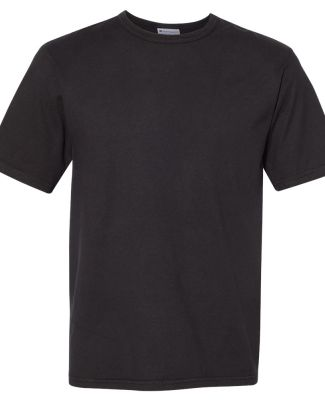 Champion Clothing CD100 Garment Dyed Short Sleeve  Black