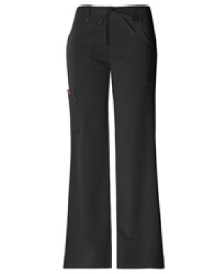 Dickies Medical 82011P - Junior Cargo Pant-Petite Black