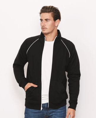 Canvas 3710 Mens Piped Track Jacket Catalog