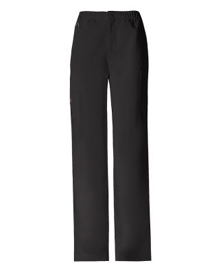 Dickies Medical 81210 - Men's Zip Fly Pull-On Pant Black