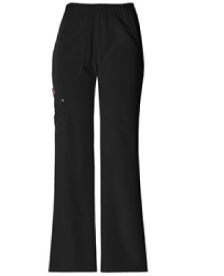 Dickies Medical 82012 - Women's Junior Low-Rise Ca Black