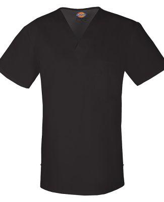 Dickies Medical 81800 - Men's V-Neck Top Black