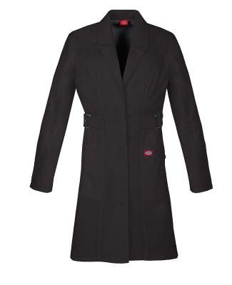 """Dickies Medical 82410 - 36"""" Lab Coat Black"""