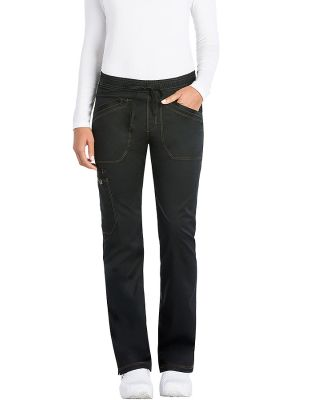 Dickies Medical DK106T - Tall Mid Rise Straight Le Black