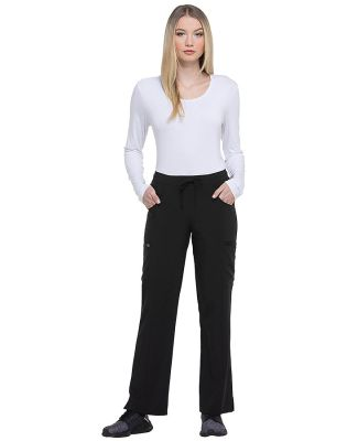 Dickies Medical DK010 -  Women's Mid Rise Straight Black