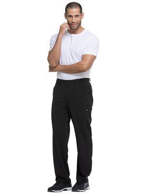 Dickies Medical DK015 - Men's Natural Rise Drawstr Black