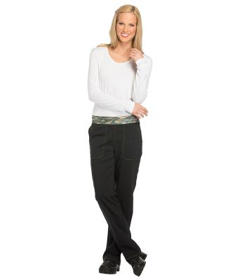 Dickies Medical DK140 -Women's Mid Rise Tapered Le Black